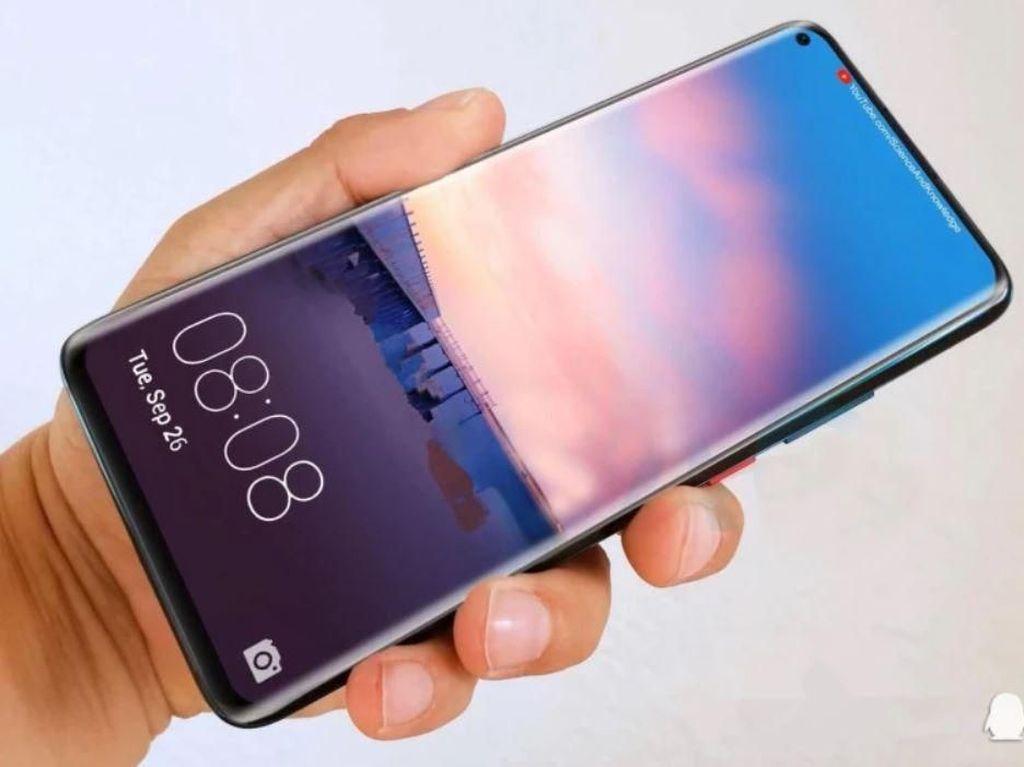 Bocoran Spek dan Wujud Huawei Mate 30 Pro Mulai Bermunculan