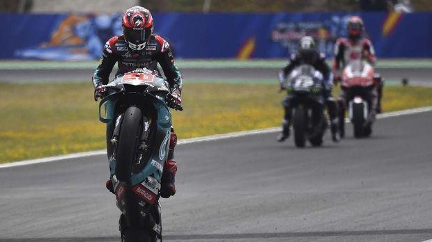 Fabio Quartararo terus menunjukkan sensasi di MotoGP 2019.
