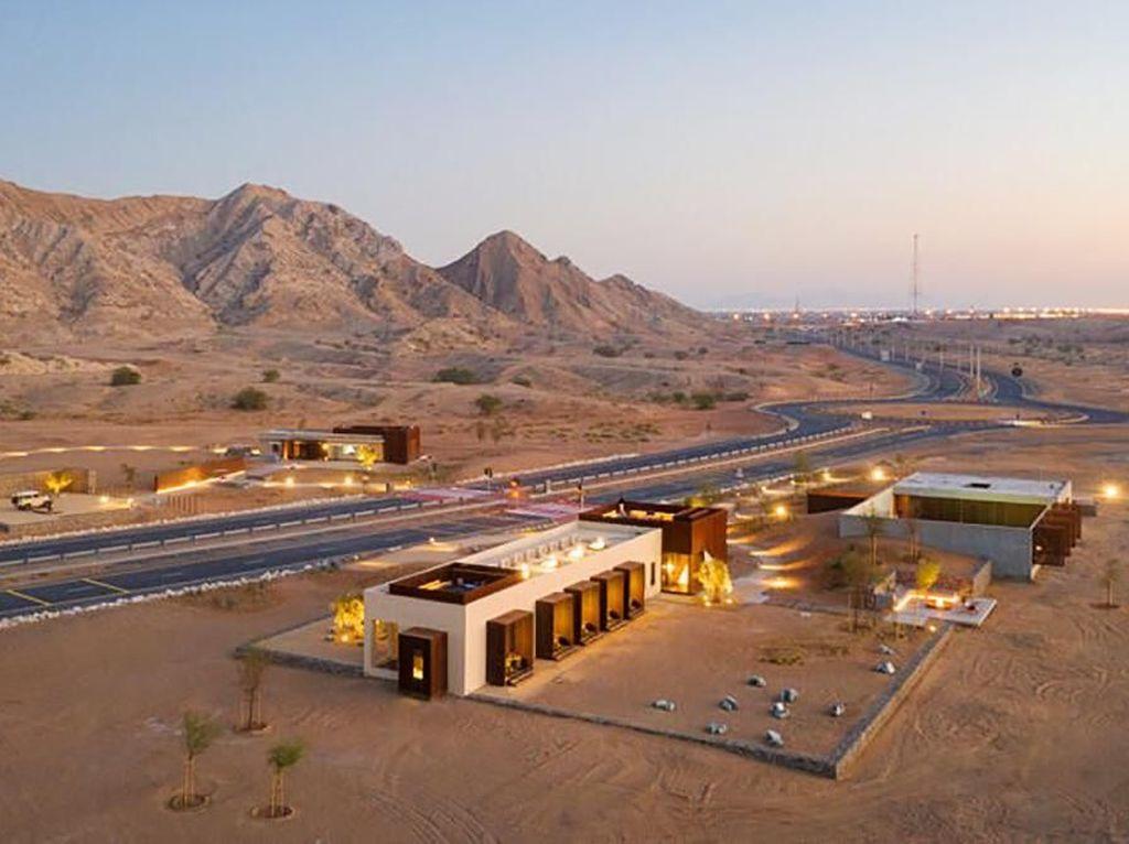 Terbengkalai di Gurun Pasir, Bangunan Tua Disulap Jadi Hotel Mewah