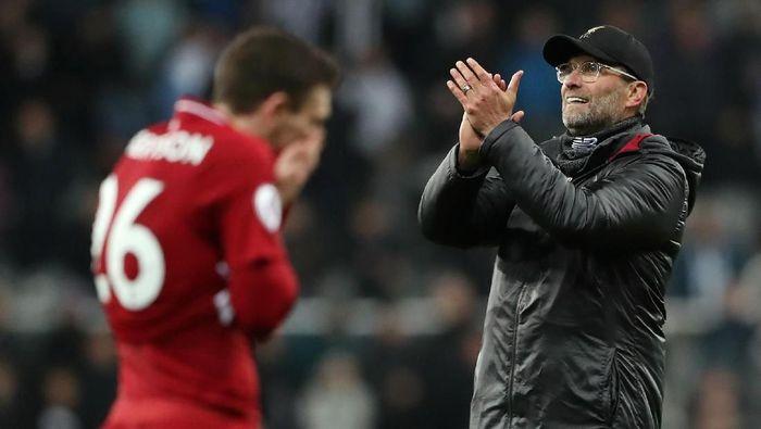 Liverpool membuat persaingan Liga Inggris sampai di pekan terakhir. (Foto: Scott Heppell/Reuters)