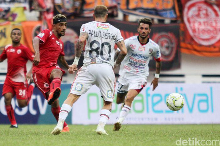Pertandingan perempatfinal Piala Indonesia leg kedua antara Persija Jakarta vs Bali United digelar di Stadion Wibawa Mukti, Minggu (5/5/2019) Sore WIB.