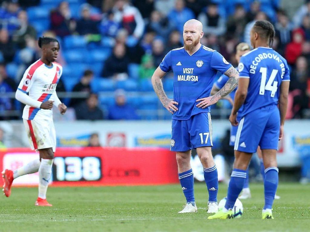 Hasil Liga Inggris: Dikalahkan Palace, Cardiff Degradasi