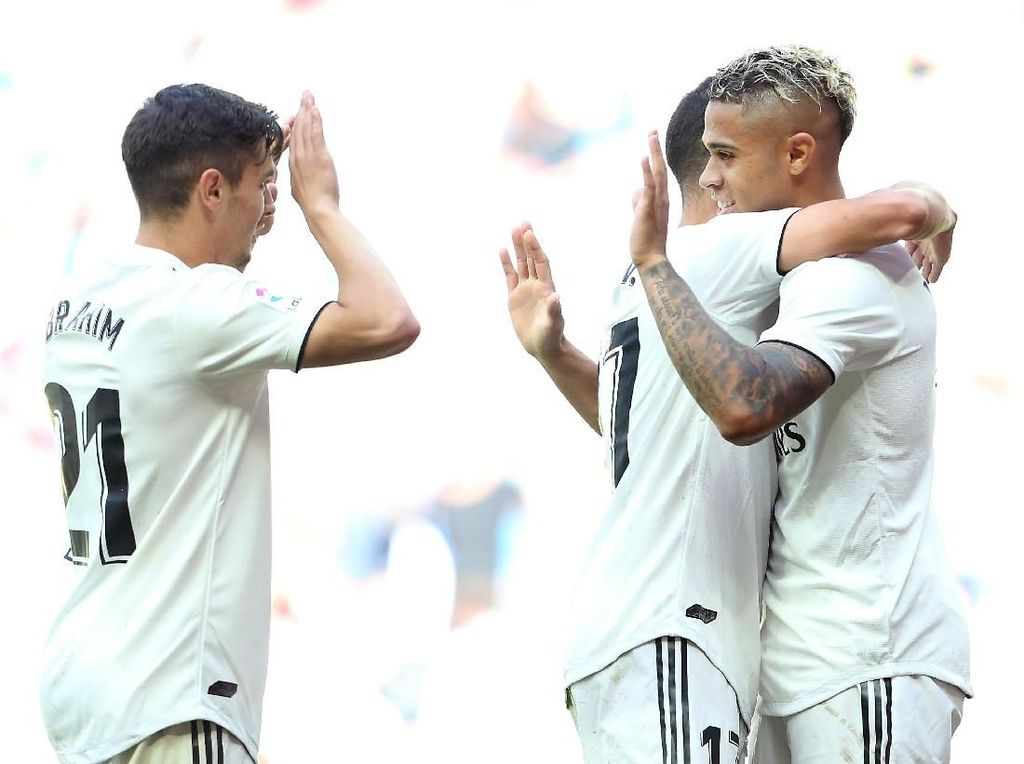 Hasil Liga Spanyol: Mariano Dua Gol, Madrid Bungkam Villarreal