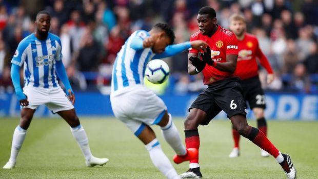 Paul Pogba mendapat cacian dari suporter di laga terakhir Man United.
