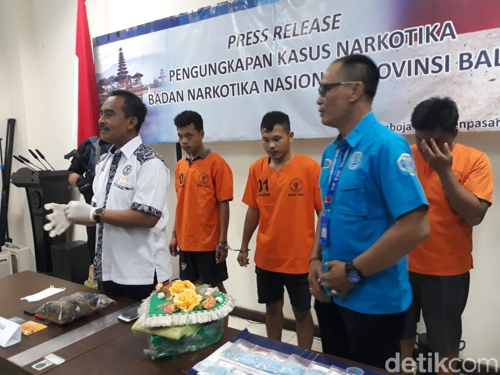 992 Ekstasi Diselundupkan ke Bali via Travel, Bentuknya Parcel Hati