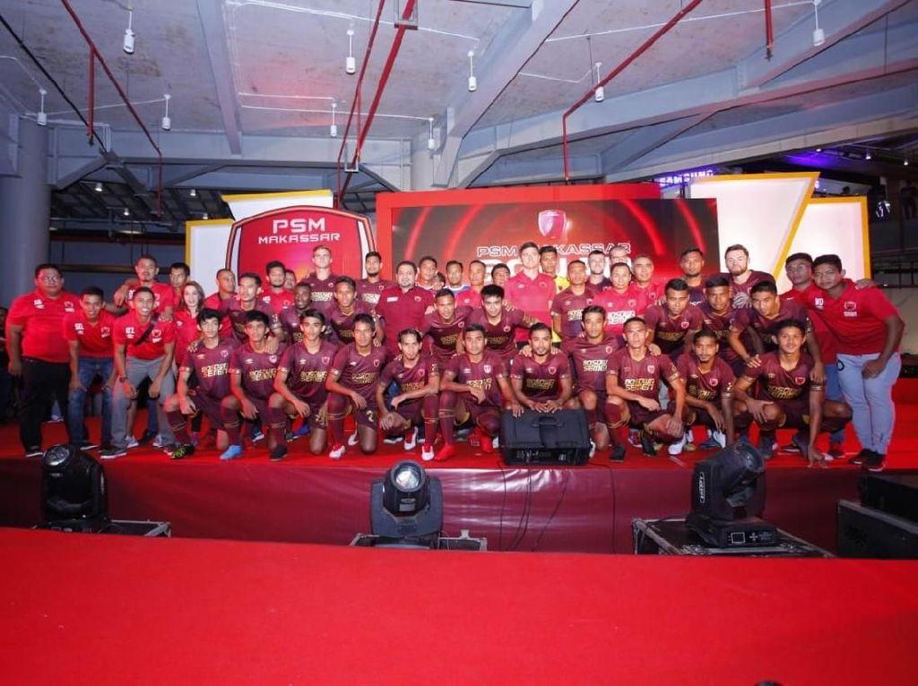 Jelang Liga 1 2019, PSM Makassar Luncurkan Tim Barunya