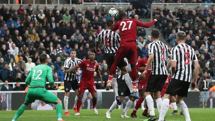 Liverpool menang 3-2 atas Newcastle United. (Foto: Scott Heppell/Reuters)