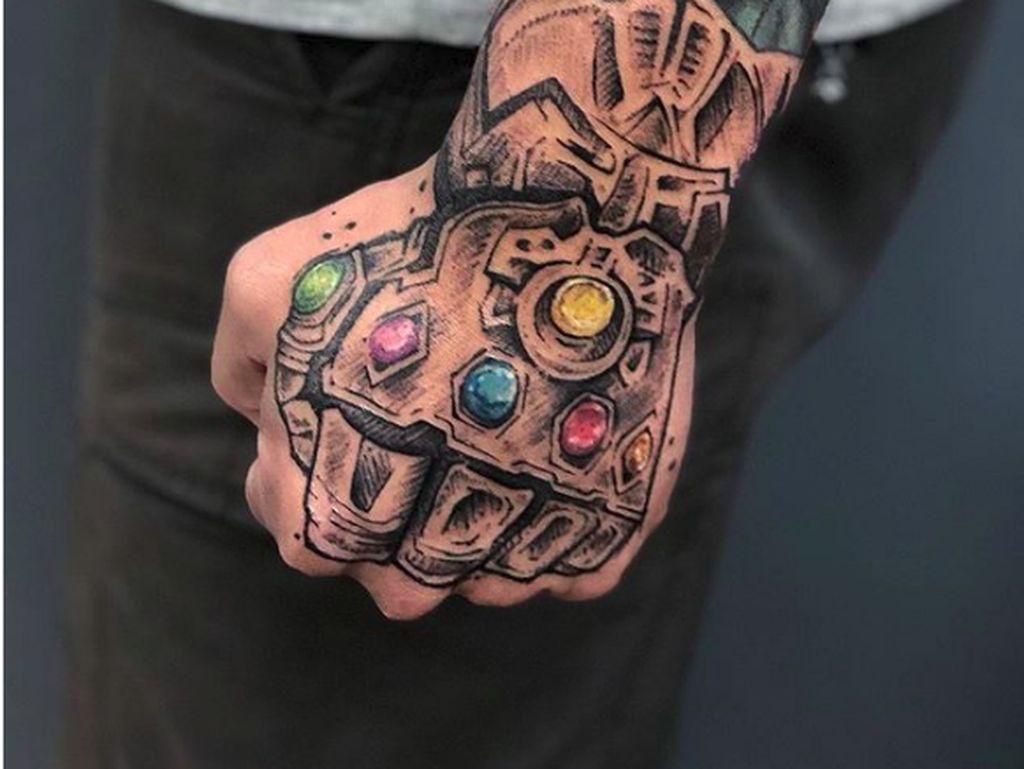 Kumpulan Tato Keren yang Terinspirasi dari Avengers sampai Harry Potter