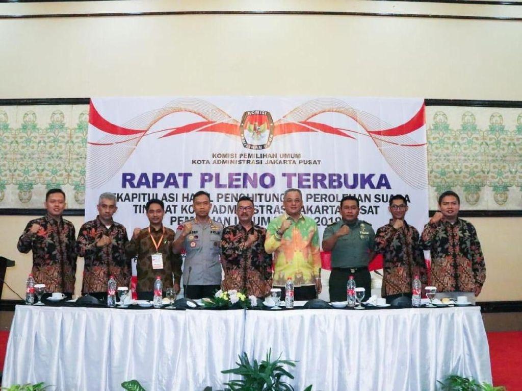KPU: Pemilu di Jakarta Pusat Berjalan Kondusif Tanpa Kecurangan