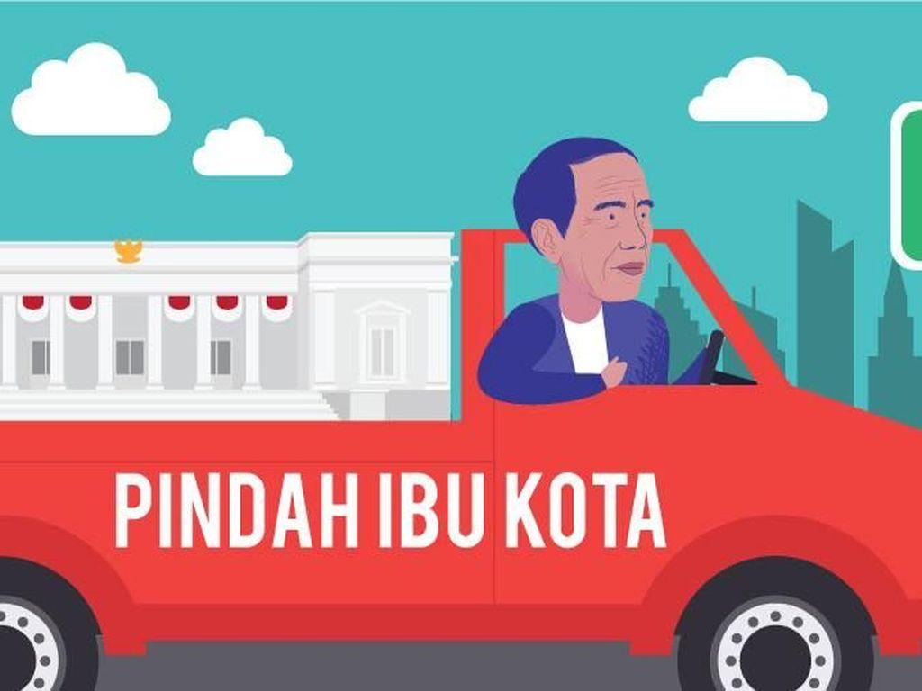 Jangan Girang Dulu, Ini Ruginya Kalau Ibu Kota Pindah ke Jonggol