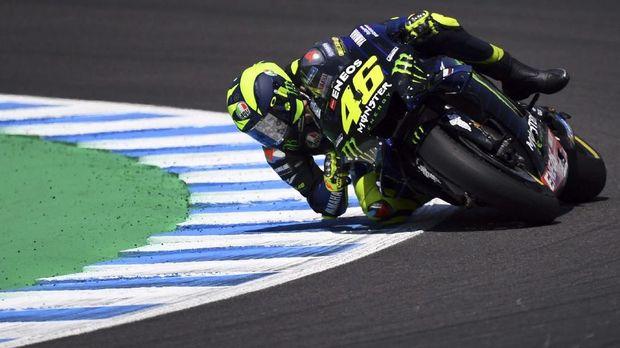 Rossi masih kesulitan untuk jadi yang terbaik di FP3 dan FP4.
