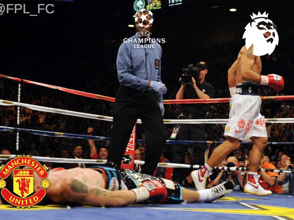 Meme-Meme Lucu Usai MU Gagal ke Liga Champions