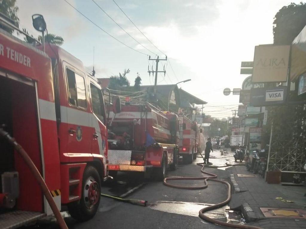 Kompor Meledak, Kafe Milik WN Prancis di Seminyak Terbakar