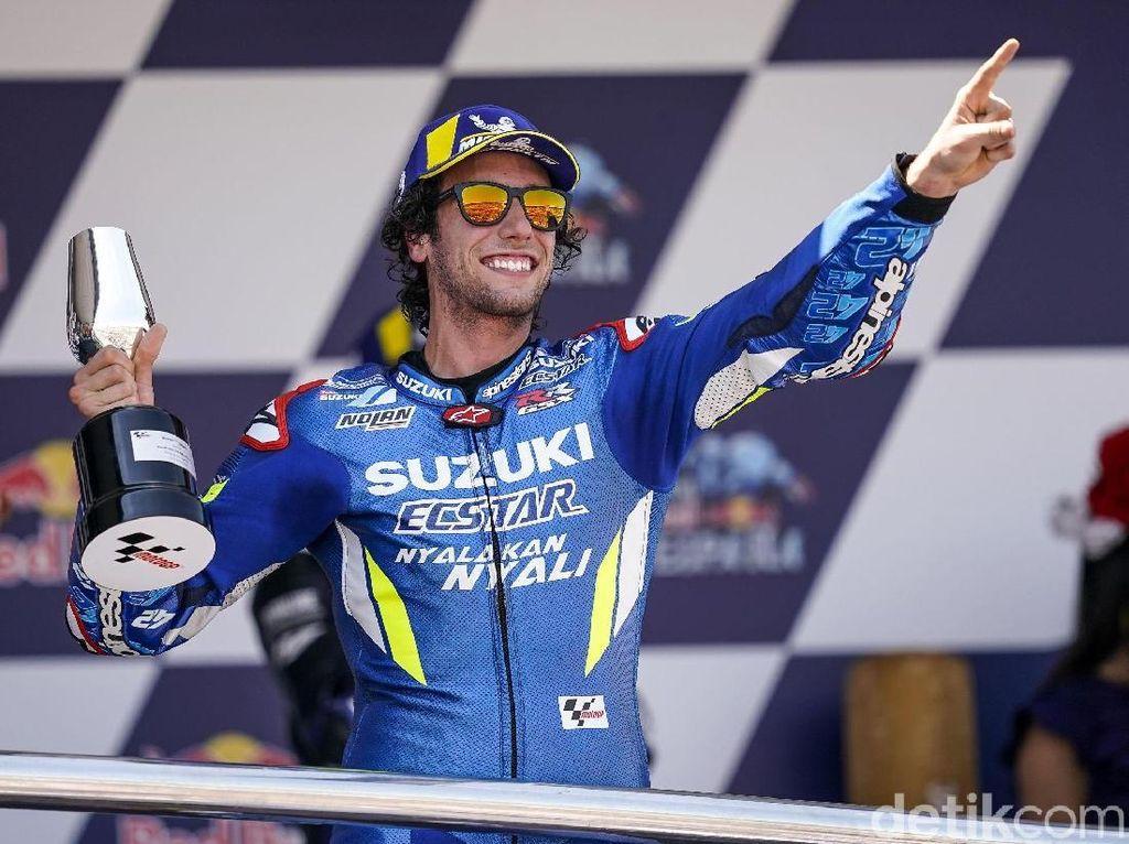 Kebersamaan Suzuki dan Alex Rins Berlanjut hingga 2022