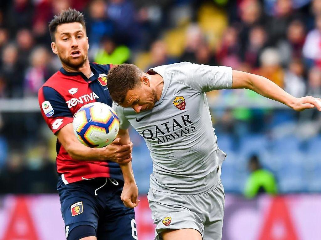 Hasil Liga Italia: Roma Ditahan Genoa 1-1 dalam Laga Dramatis