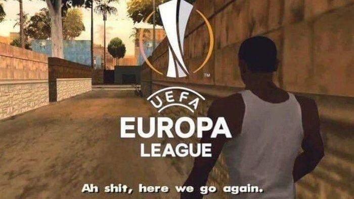 MU dipastikan gagal ke Liga Champions musim depan, usai ditahan Huddersfield Town 1-1. Hasil itu membuat MU tidak akan bisa finis di empat besar sehingga harus puas cuma berlaga di Liga Europa musim depan. (Foto: Twitter)