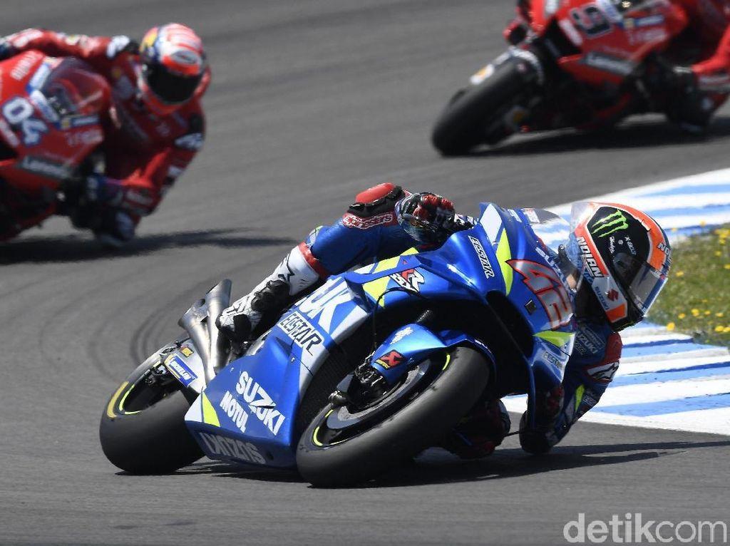 Alex Rins Kuasai FP3 MotoGP Aragon