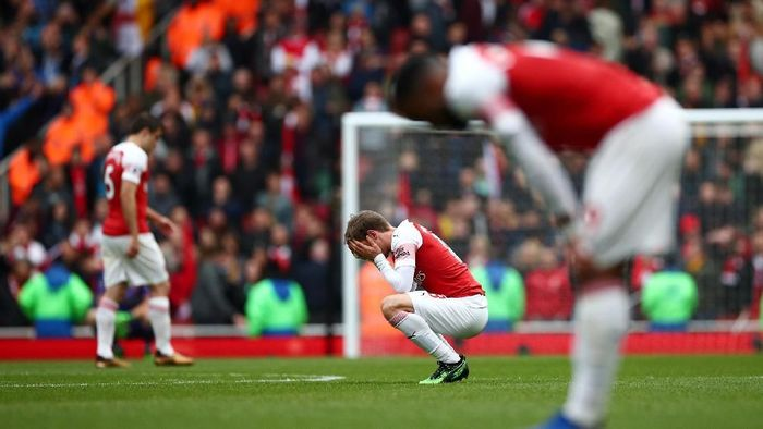 Arsenal sulit finis empat besar musim ini. (Foto: Reuters)