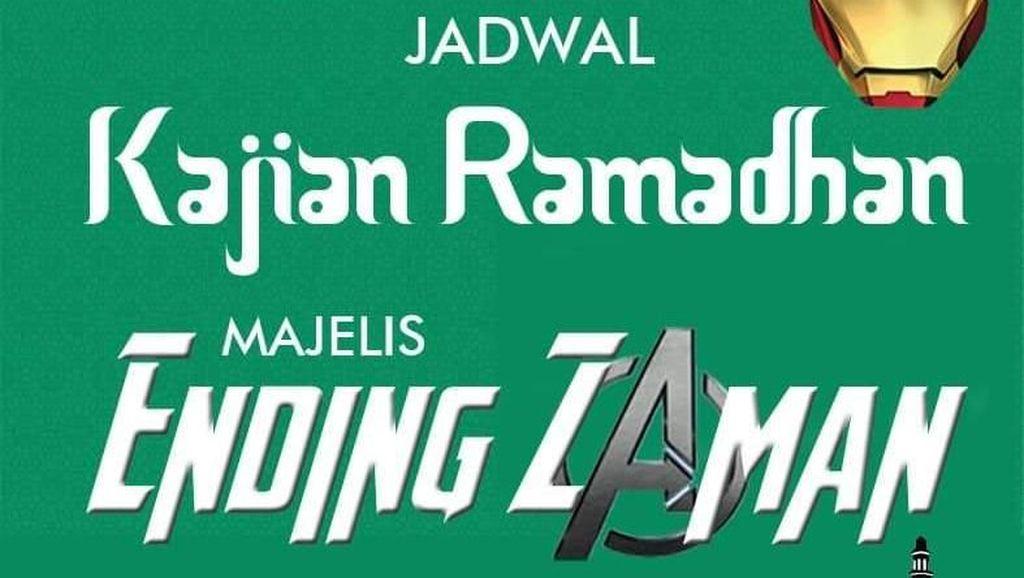 Kreasi Netizen: Kajian Ramadhan oleh Para Jagoan Avengers