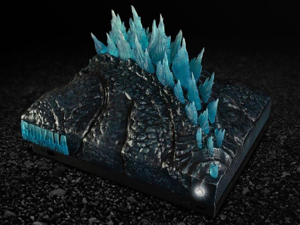 Potret Xbox One X Edisi Godzilla yang Sangar