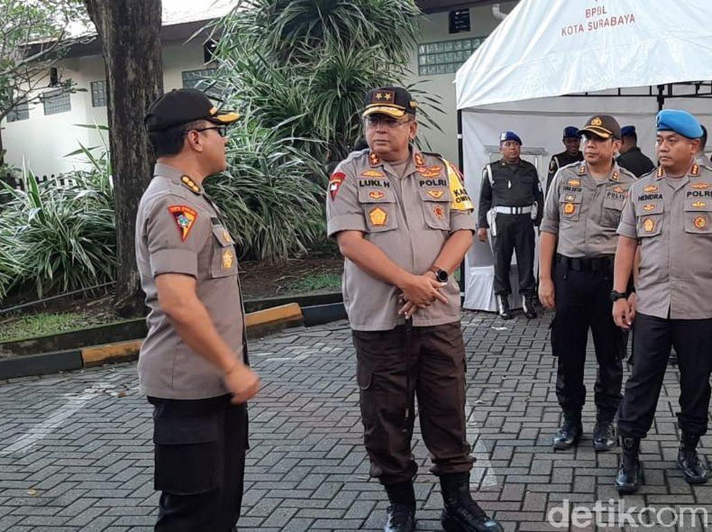 Pengamanan Rekapitulasi KPU Jatim, Jibom Hingga Sniper Disiagakan