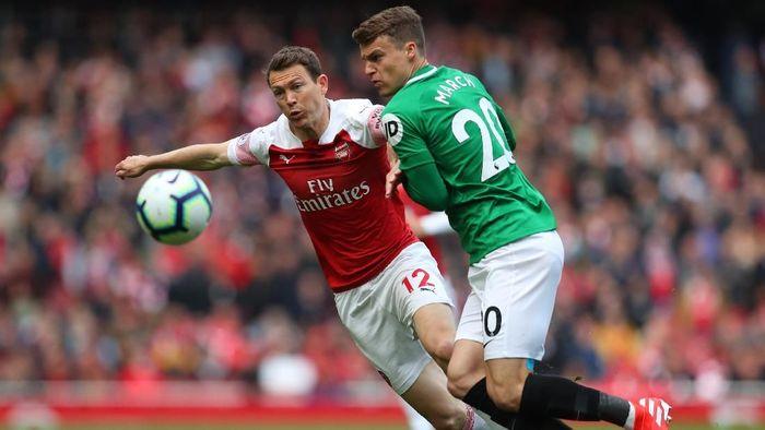Arsenal ditahan imbang Brighton 1-1. (Foto: Catherine Ivill/Getty Images)