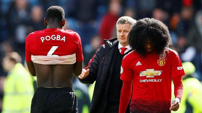 Ole Gunnar Solskjaer di Manchester United. (Foto: Reuters/Jason Cairnduff)