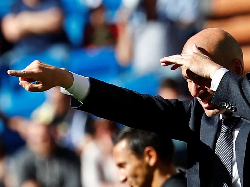 Zidane Kasih Tanda-Tanda Bale Akan Didepak?