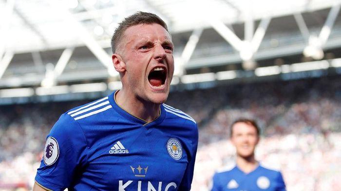 Jamie Vardy akan menjadi ancaman utama bagi gawang Liverpool (Foto: Andrew Boyers/Reuters)