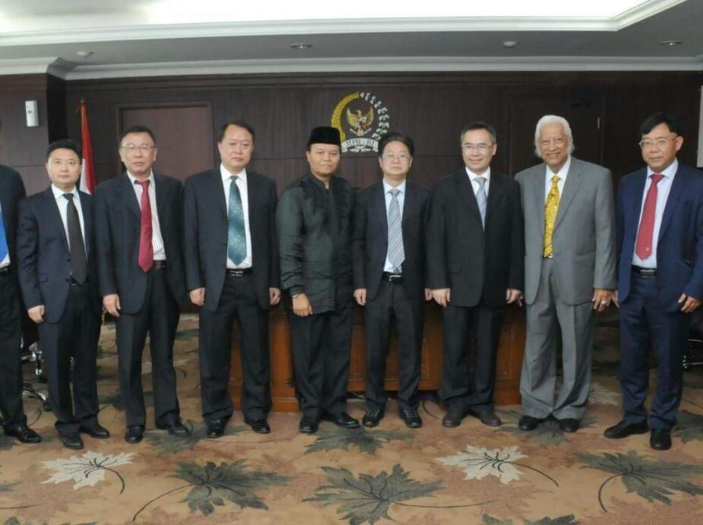 HNW Terima Parlemen Tiongkok, Bahas Investasi hingga Diplomatik