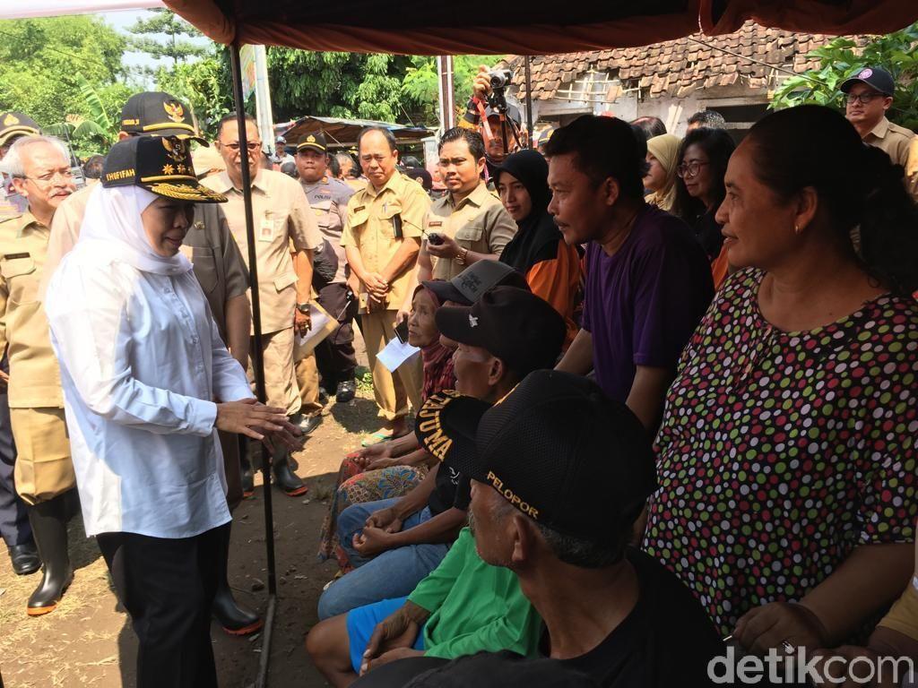 Strategi Khofifah Atasi Banjir Mojokerto, Bangun Tanggul dan Normalisasi