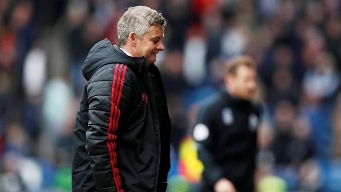 Perjalanan Ole Gunnar Solskjaer sebagai manajer Manchester United sudah berat sejak pramusim. Bagaimana saat kompetisi dimulai nanti? (Reuters/Carl Recine)