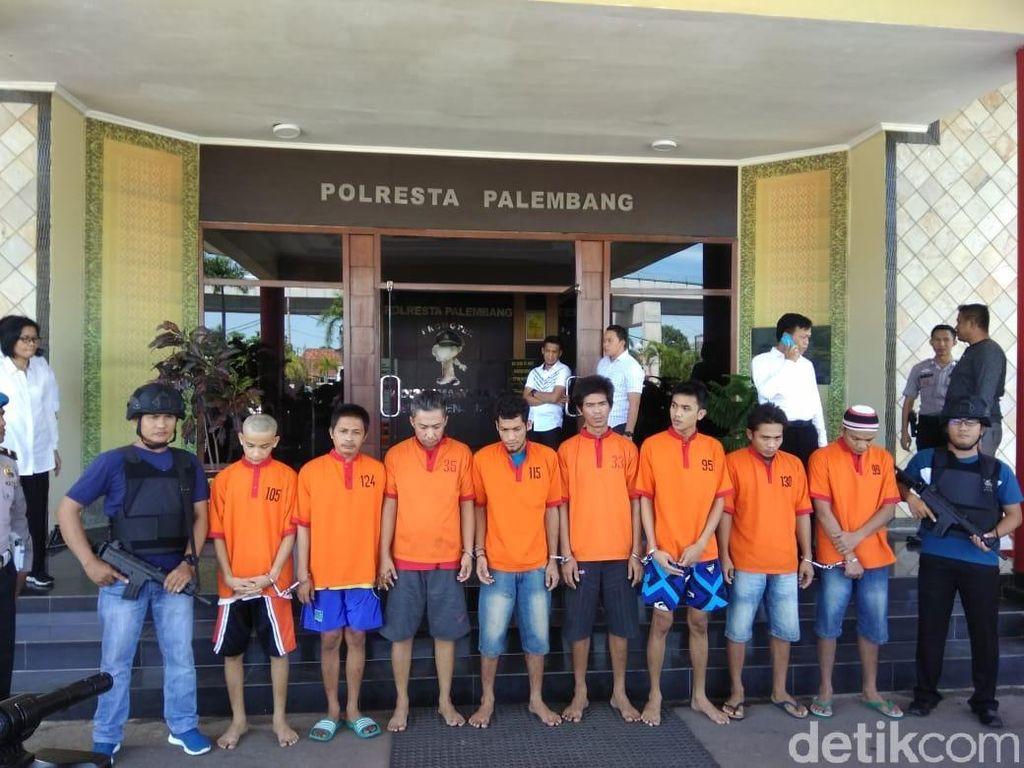 Polisi: Bandar Sabu Jadi Otak Kaburnya 30 Tahanan dari Sel Palembang