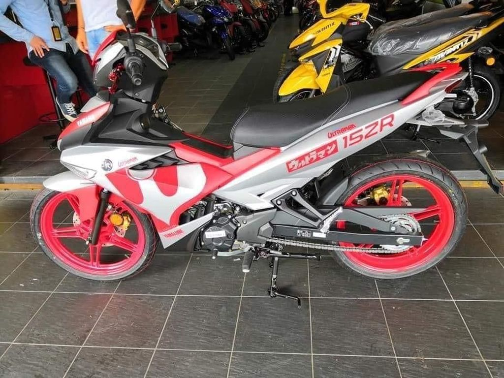 Lucu Nih, Yamaha MX King 150 Versi Ultraman