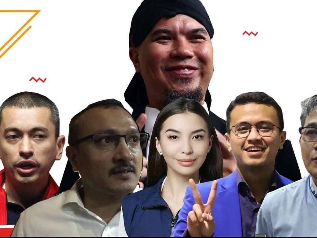 Deretan Caleg Penghias Layar Kaca yang Dikabarkan Gagal ke Senayan