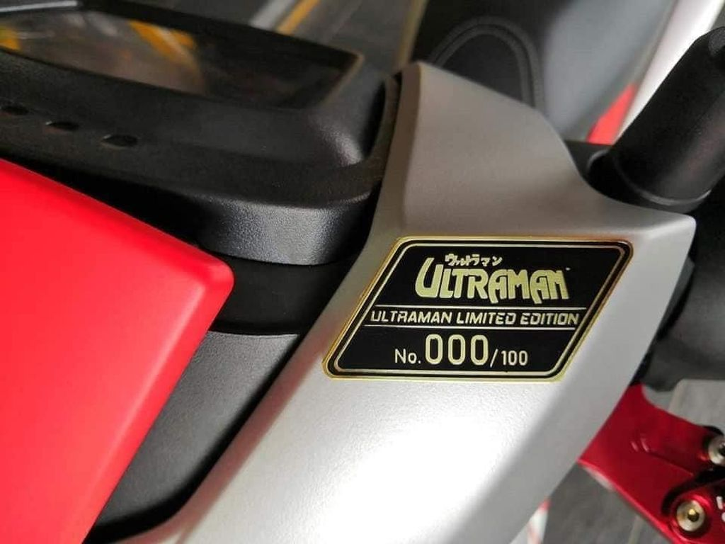 Yamaha MX King 150 Versi Ultraman Dijual!