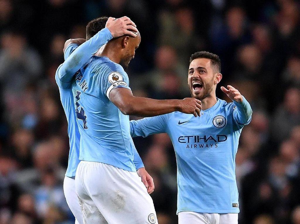 Klasemen Liga Inggris: Man City Memimpin Lagi, Empat Besar Mengerucut