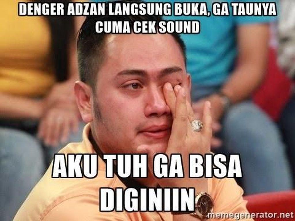 Sambil Nunggu Waktu Berbuka, Lihat Meme Kocak Netizen yang Lupa Lagi Puasa