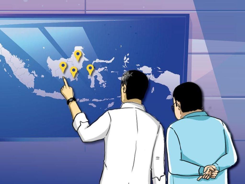 Jokowi Minta Skema Pembiayaan Pindah Ibu Kota Mulai Disiapkan