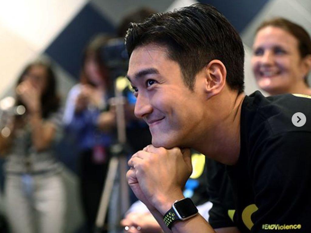 Cara Siwon SuJu Gaet Elf Bertemu dalam Fanmeeting di Indonesia