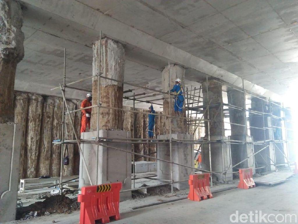 Pengerjaan Dikebut, Underpass Karanglo Malang Ditarget Rampung H-7