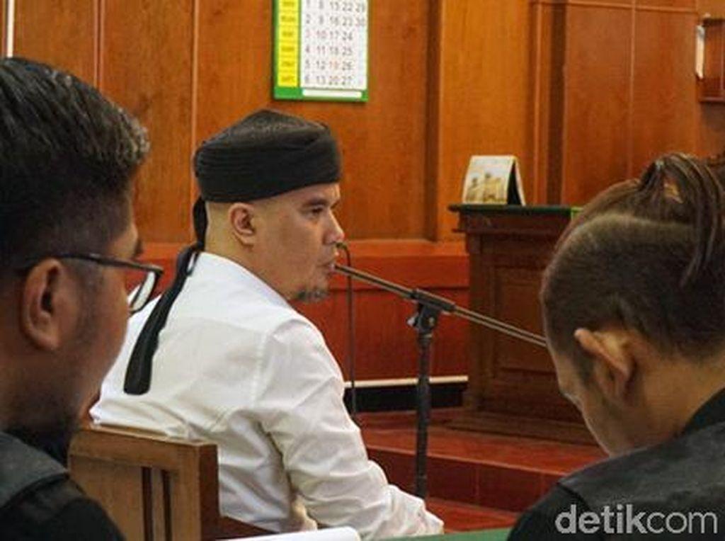 Sidang Ahmad Dhani, Mulai Sebut Wiranto Hingga Bacakan An Nisa 148