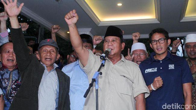 Berita Penjelasan soal Turunnya Klaim Kemenangan Prabowo Sabtu 25 Mei 2019