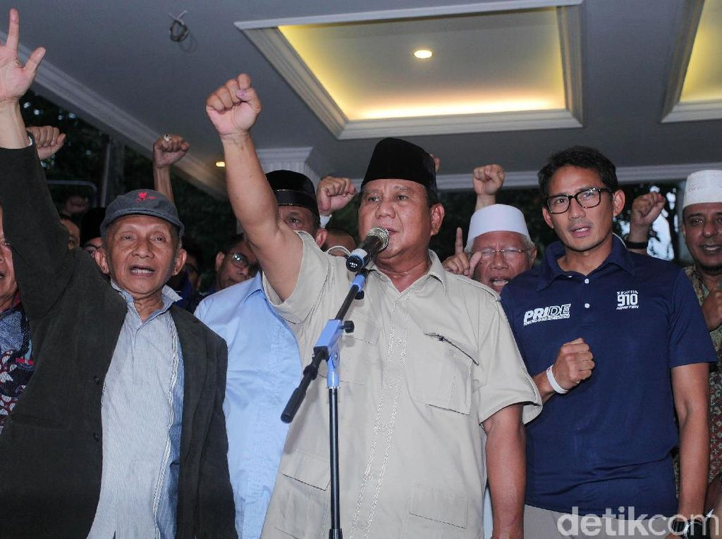 Prabowo: Pernyataan Hendropriyono Soal WNI Keturunan Arab Bersifat Rasis