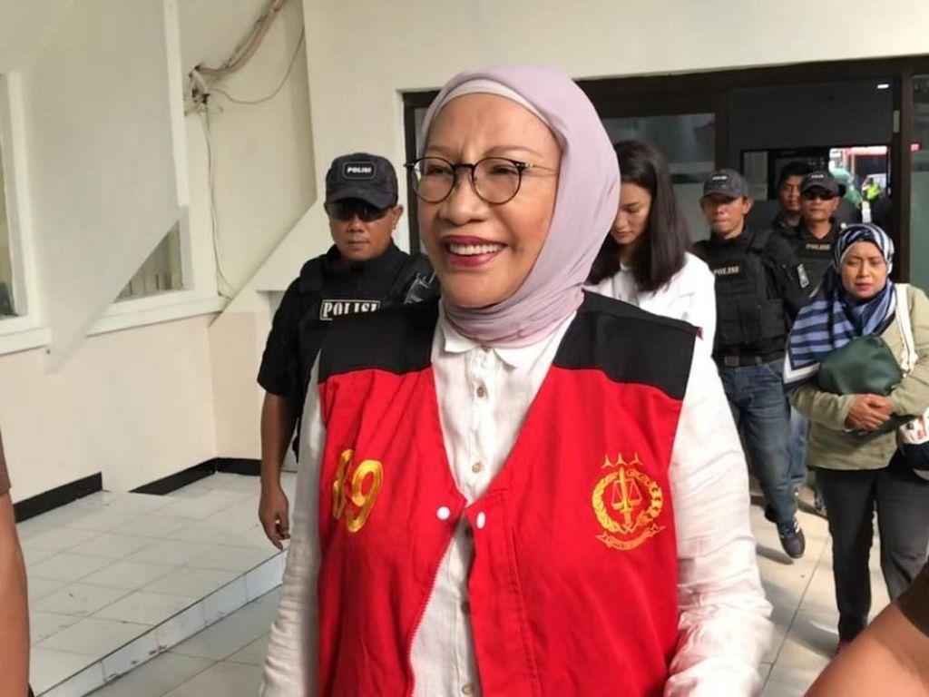 Tiba di PN Jaksel, Ratna Sarumpaet Harap Kesaksian Fahri Meringankannya