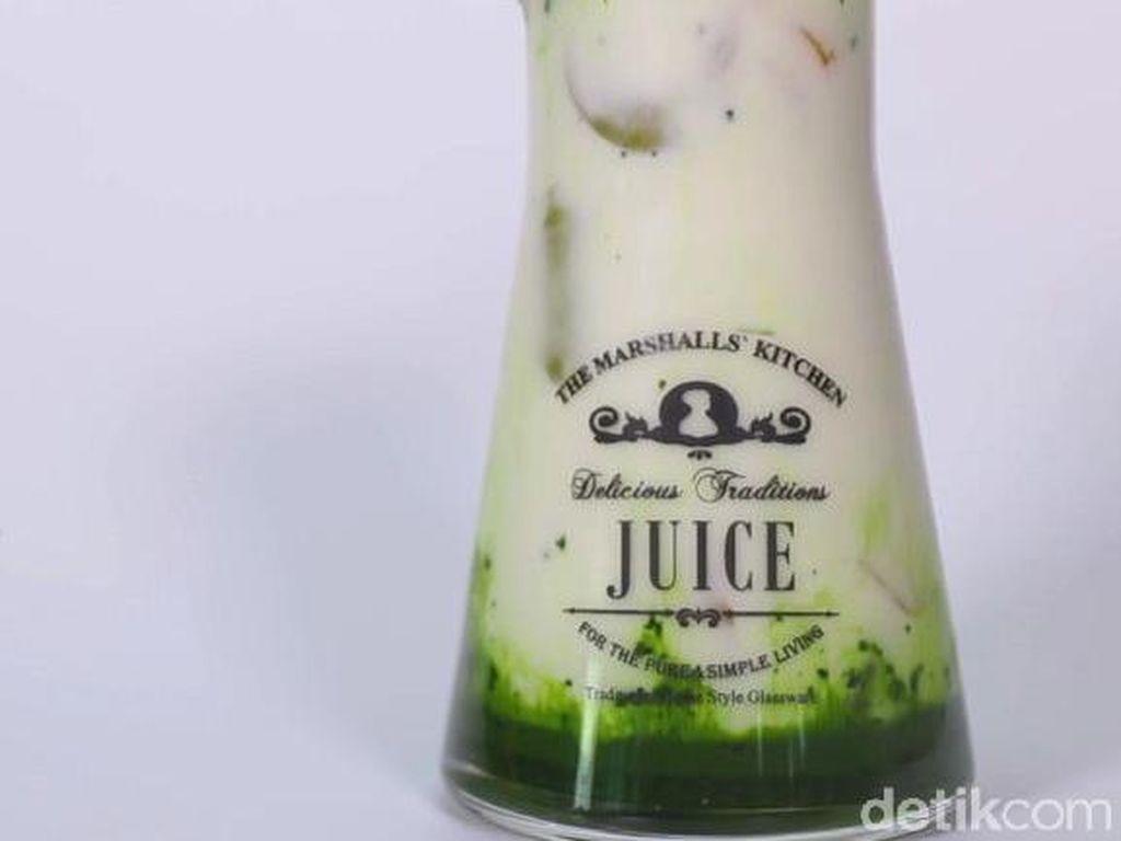 Resep Buka Puasa : Matcha Latte Nangka