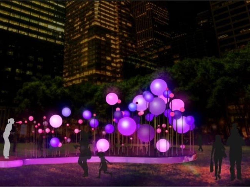 Liburan Sekolah, Ajak Si Kecil Lihat Festival Cahaya di Vivid Sydney