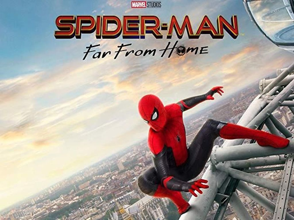 Spider-Man: Far From Home, Euro Trip bersama Peter Parker