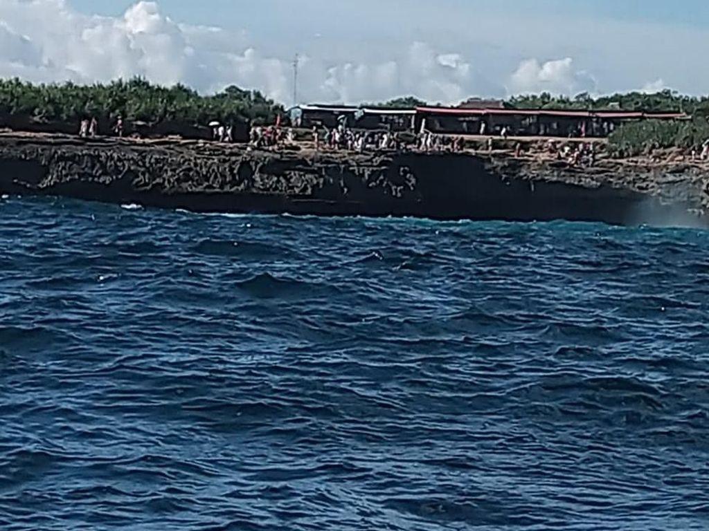 Turis India yang Jatuh di Dream Beach Nusa Penida Belum Ditemukan