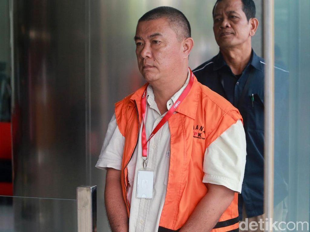 Benhur Lelanoh Diperiksa Perdana Terkait Suap Bupati Talaud